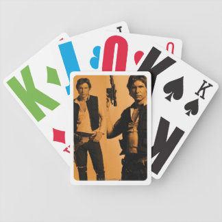 Han Solo  Photo Collage Poker Deck
