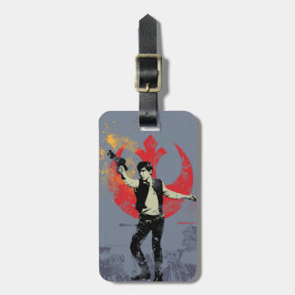 Han Solo Retro Luggage Tag