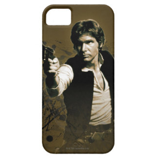 Han Solo Sepia Barely There iPhone 5 Case
