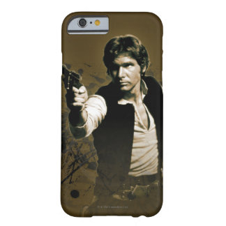Han Solo Sepia Barely There iPhone 6 Case