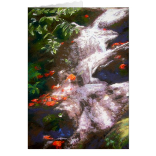 Hana Waterfall Card