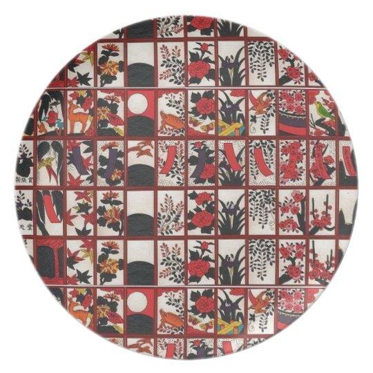 Hanafuda Love Plate