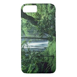 Hanakapiai Falls along the Na Pali Coast, Kauai, iPhone 8/7 Case