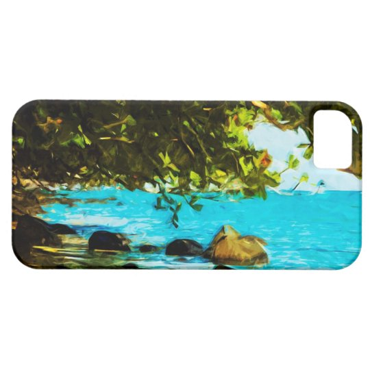 Hanalei Bay Kauai Hawaii Abstract iPhone 5 Cover