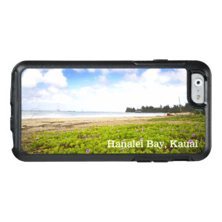 Hanalei Bay, Kauai Hawaii Beach Flowers OtterBox iPhone 6/6s Case