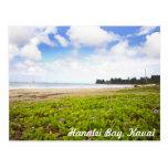 Hanalei Bay, Kauai Hawaii Tropical Scene Postcard