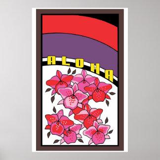 hanapua orchid poster