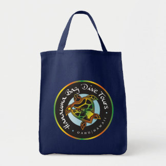 Hanauma Bay Dive Tours Logo Tote Bag
