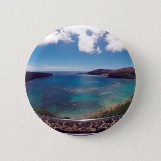 HANAUMA BAY HAWAII 6 CM ROUND BADGE