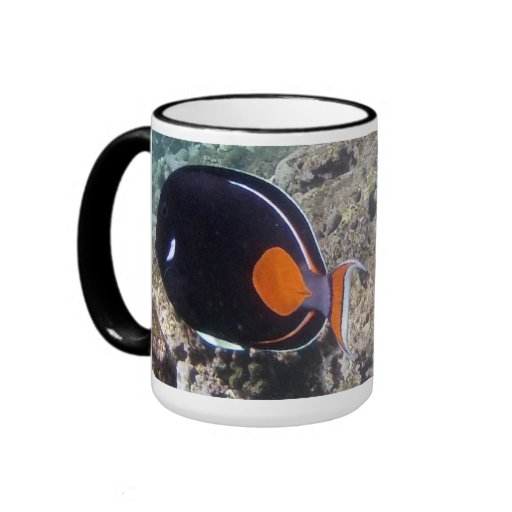 Hanauma Bay Hawaii - Achilees Tang Fish Coffee Mugs