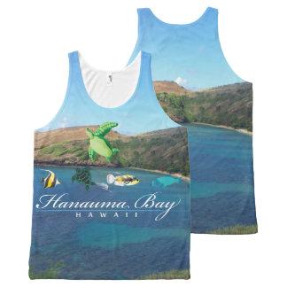 Hanauma Bay Hawaii All-Over Print Tank Top