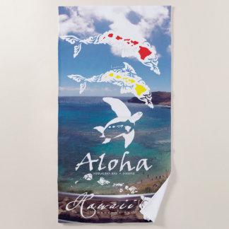 Hanauma Bay Hawaii Beach Towel
