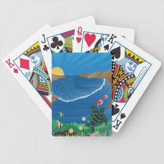 Hanauma Bay Hawaii Bicycle Playing Cards
