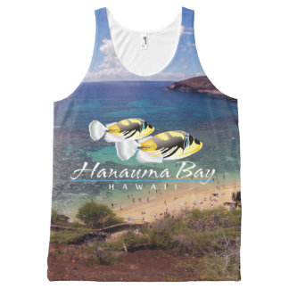 Hanauma Bay Hawaii  State Fish All-Over Print Tank Top