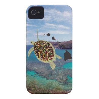 Hanauma Bay Hawaii Turtle iPhone 4 Covers