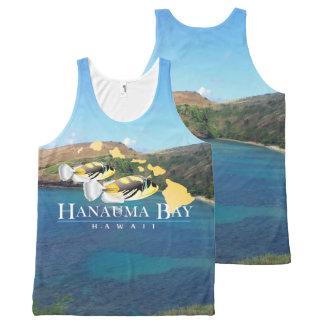 Hanauma Bay Hawaiin All-Over Print Tank Top