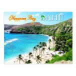 Hanauma Bay, Oahu - Snorkeler's Paradise Postcards