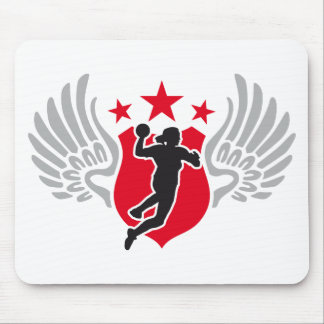 hand ball mouse mat