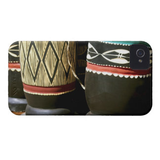 Hand carved drums, Livingston, Zambia Case-Mate iPhone 4 Case