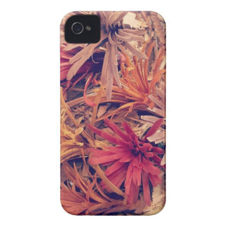 Hand carved wooden Forever flowers Case-Mate iPhone 4 Case