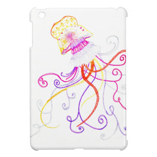 Hand Designed Jellyfish iPad Mini Case