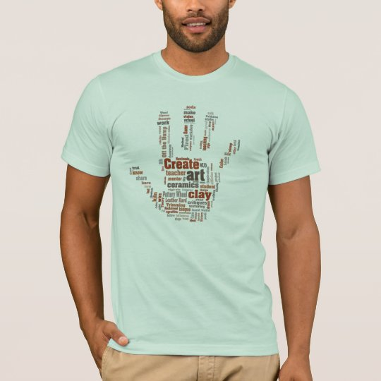 'Hand' designed Pottery Art T T-Shirt