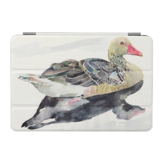 Hand Draw Watercolor Bird, Duck iPad Mini Cover