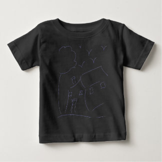HAND DRAWING HOUSE BABY T-Shirt