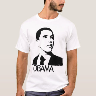 Hand Drawn Barack Obama Pic T-Shirt