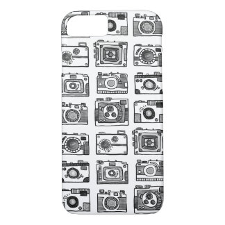 Hand-drawn Cameras iPhone 8/7 Case
