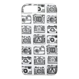 Hand-drawn Cameras iPhone 8/7 Case