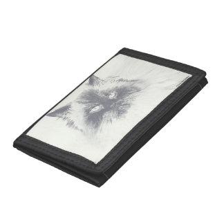 Hand Drawn Cat Wallet