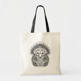 Hand Drawn Echidna Doodle Tote Bag