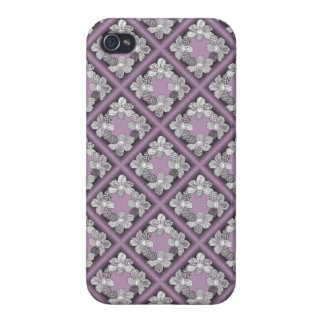 Hand Drawn Flower Lei Choose Any Color iPhone 4/4S Cover