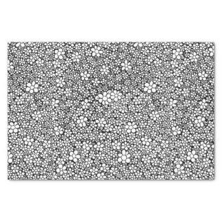 Hand Drawn Flower Pattern Tissue Paper