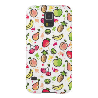 hand drawn fruits pattern galaxy s5 cover