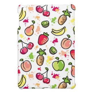 hand drawn fruits pattern iPad mini covers