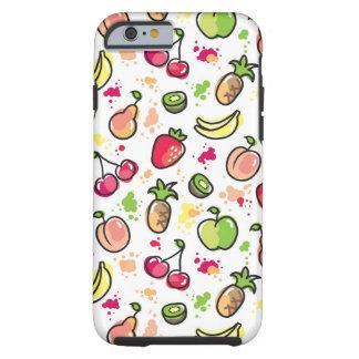hand drawn fruits pattern tough iPhone 6 case