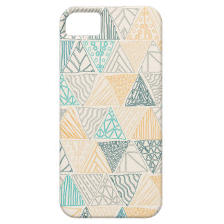 Hand Drawn Geometric Pattern Design Phone Case