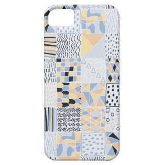 Hand Drawn Geometric Squares Phone Case