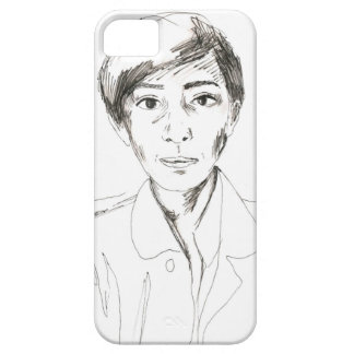 Hand-Drawn Girl iPhone 5 Case