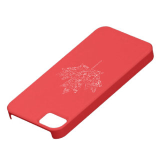 Hand Drawn Hockey Canada Leaf Case