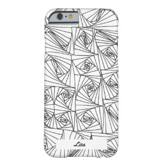 Hand drawn illusion barely there iPhone 6 case