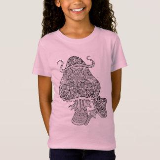 Hand Drawn Magic Mushrooms Doodle T-Shirt