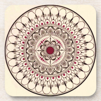Hand Drawn Mandala Coasters