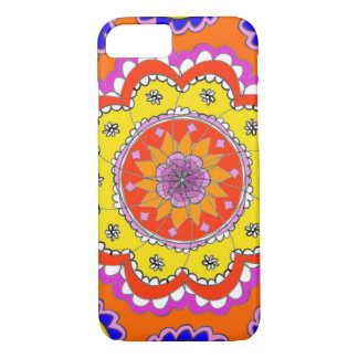 Hand-drawn Mandala design Indian touch iPhone case