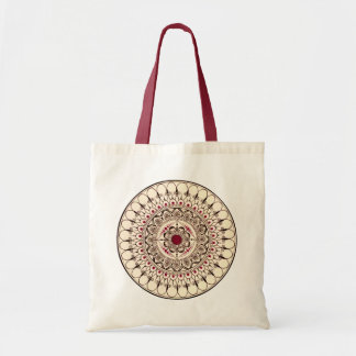 Hand Drawn Mandala Tote Bag