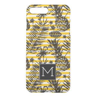 Hand Drawn Pineapples | Monogram iPhone 8 Plus/7 Plus Case