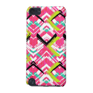 Hand Drawn Pink Zig Zag Pattern iPod Touch (5th Generation) Covers