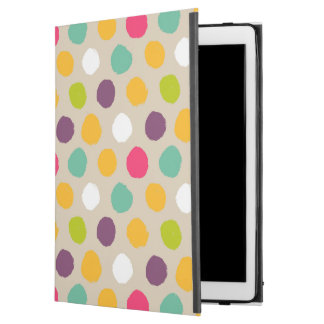 "Hand-drawn polka dot pattern iPad pro 12.9"" case"